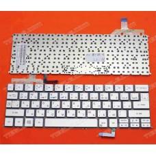 Bàn phím laptop Acer ultrabook Aspire S7-391,S7-392 màu xám bạc + có đèn keyboard