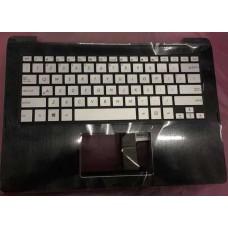 Bàn phím laptop Asus TP300L (nguyên bệ+màu bạc+có đèn) keyboard