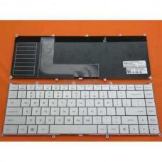 Bàn phím laptop Dell Adamo 13S màu bạc+Có Đèn keyboard