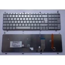 Bàn phím HP HDX18 DV8 (màu bạc+có đèn) keyboard