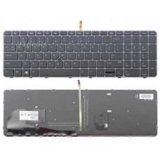 Bàn phím laptop HP ZBOOK 15U G3(có đèn + khung +có chuột) TỐT keyboard