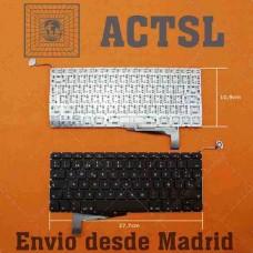 Bàn phím Macbook A1286 (2008) (châu âu) keyboard