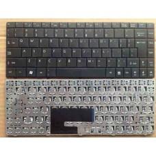 Bàn phím laptop MSI CR400,X320,X340,X300,EX460,ULV723,U200,U340,X400 ĐEN keyboard