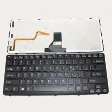 Bàn phím laptop SONY SVE- 14 (MÀU ĐEN+CÓ KHUNG+CÓ ĐÈN) keyboard