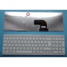 Bàn phím laptop SONY SVE- 15 SVE-17 (MÀU TRẮNG+CÓ KHUNG) TỐT keyboard