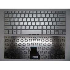 Bàn phím laptop SONY SVF- 14E ,SVF 13N MÀU BẠC keyboard