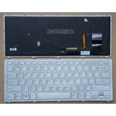 Bàn phím laptop SONY SVF- 14N SVF- 15N (MÀU ĐEN +CÓ ĐÈN+CÓ KHUNG) keyboard