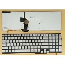 Bàn phím laptop SONY SVS- 15 MÀU BẠC (CÓ ĐÈN) keyboard
