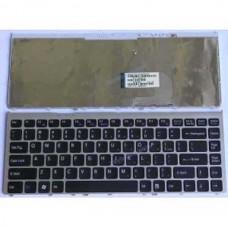 Bàn phím laptop SONY VGN FW series (MÀU ĐEN+CÓ KHUNG) keyboard