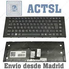 Bàn phím laptop SONY VPC- EA (MÀU ĐEN+CÓ KHUNG) keyboard