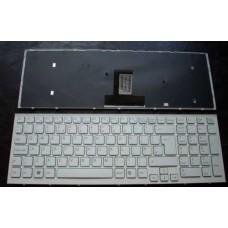 Bàn phím laptop SONY VPC- EB (MÀU TRẮNG + CÓ KHUNG) TỐT keyboard