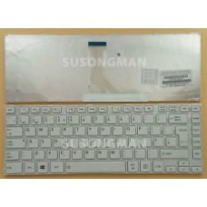 Bàn phím laptop Toshiba L840 ,C840,C800,L40-A TRẮNG keyboard