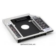 CADDY BAY(thay thế DVD để gắn thêm HDD,SSD) (NHÔM)