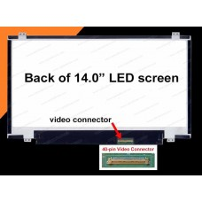 LCD 14.0 Led Slim (Hp 8470 Lenovo T430 Dell 3437 3421 5437) HD+