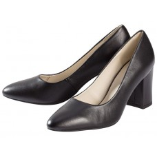 Giày ESMARA Leder-Pumps màu đen - da dê cao cấp, đế da có đệm